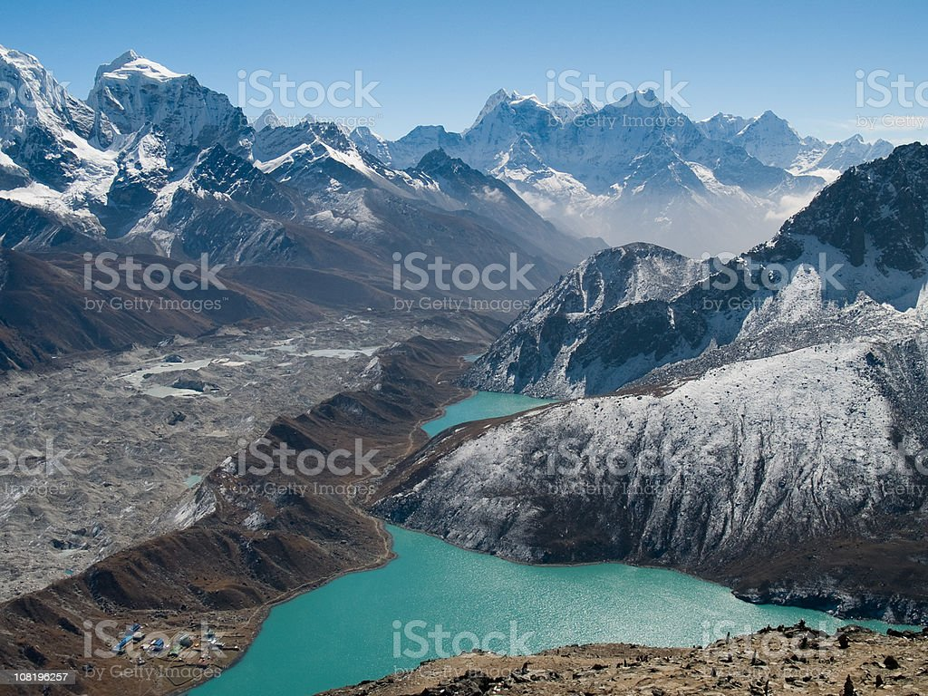 Gokyo Ri stock photo