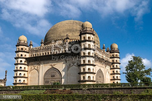 Gol Gumbaz is a tomb of Adil Shah in Bijapur, Karnataka. Its circular dome is said to be the second largest in the world after St.Peter`s Basilica in Rome. The dome stands without any pillar support.