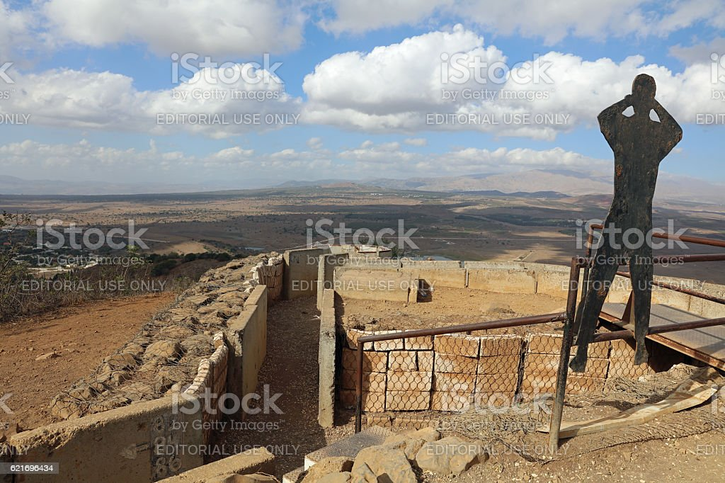 Golan Heights between Israel and Syria – Foto