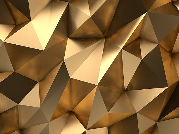 gold abstract 3d-render background - light effect stock pictures, royalty-free photos & images