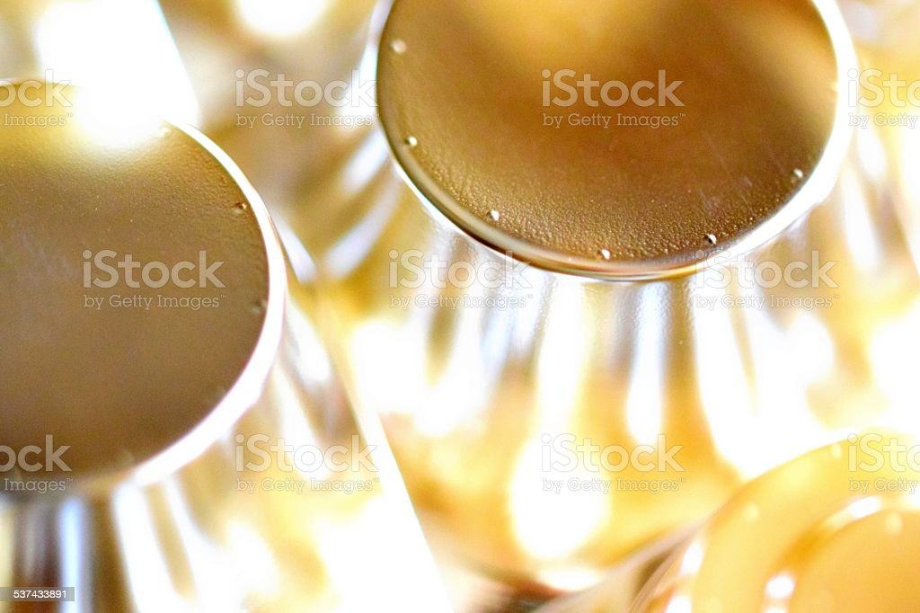 gold abstract cell stock photo