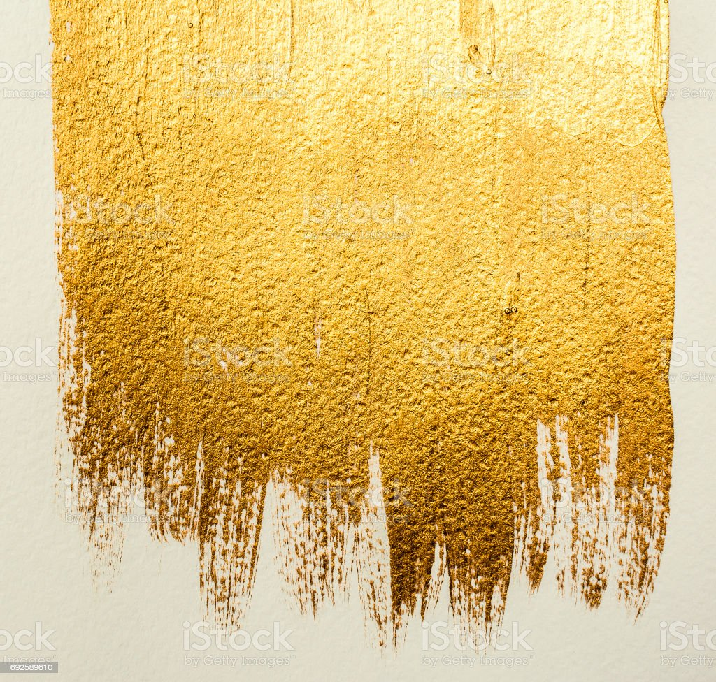 Gold acrylic background stock photo