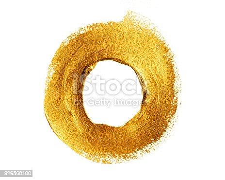 istock Gold acrylic ring 929568100