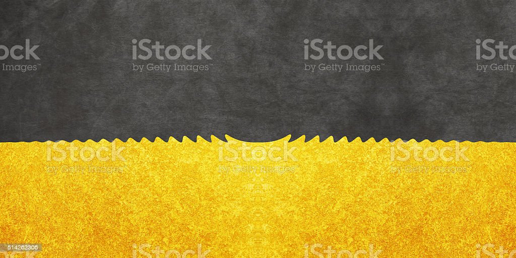 Gold and Black stock photo