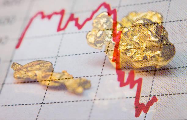 Gold und Abwärtsgang – Foto