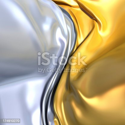 istock Gold and Silver 174910270