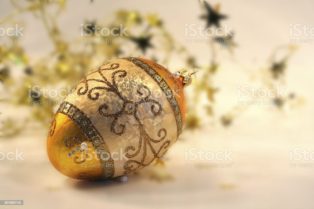 Gold and sparkling royalty-free stock photo