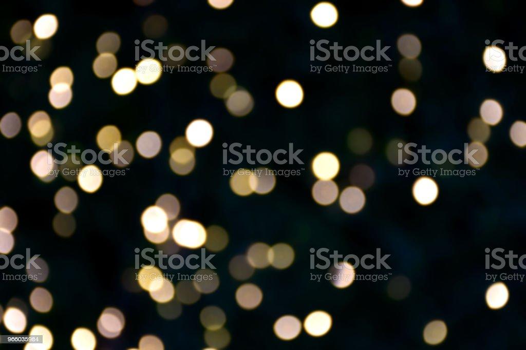 Guld och gul färg bokeh och oskärpa av ljus - Royaltyfri Abstrakt Bildbanksbilder
