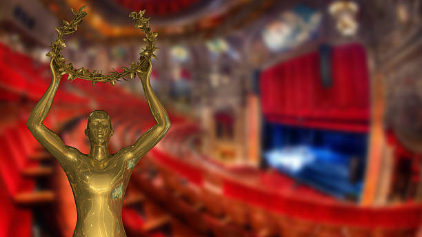 gold award – bild - oscar filme stock-fotos und bilder