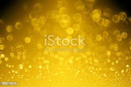 istock Gold Background for 50th Anniversary or Birthday Party Invite 868775578