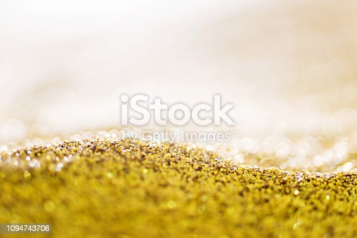 istock Gold background for Christmas design 1094743706