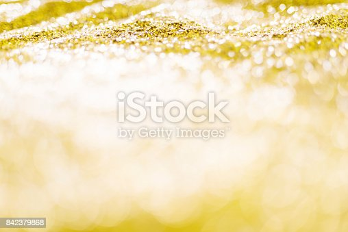 istock Gold background for Christmas design 842379868