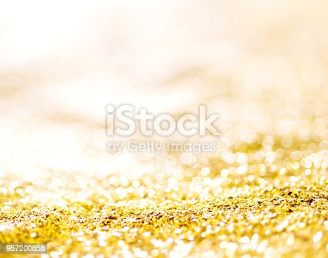 istock Gold background for Christmas design 957200858