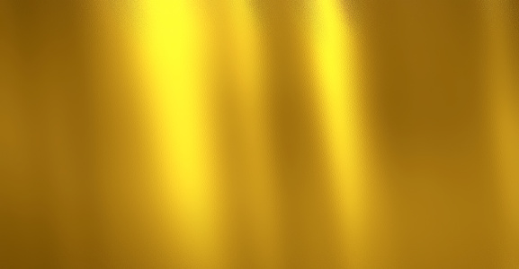 Gold background, Golden polished metal with steel texture.
