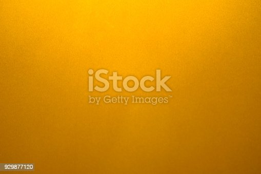 istock Gold background or texture and gradients shadow. 929877120