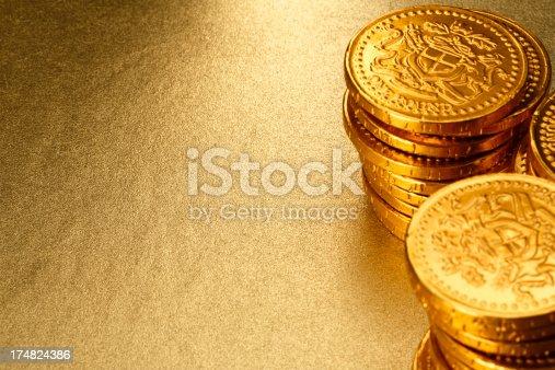 istock Gold Background 174824386
