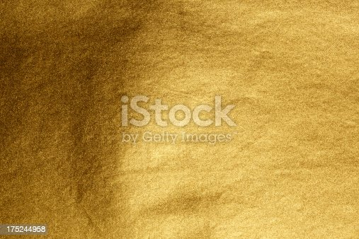 Closeup shot of abstract golden background