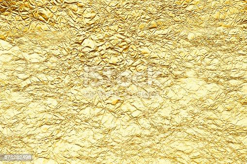 istock gold background 874282498