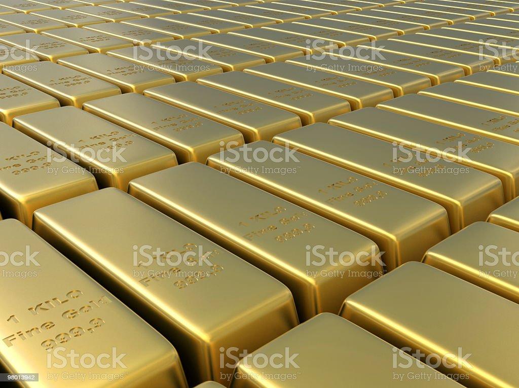 Gold Background royalty free stockfoto