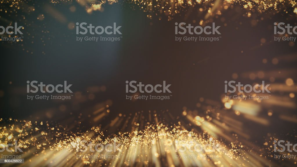 Gold background Wave motion stock photo