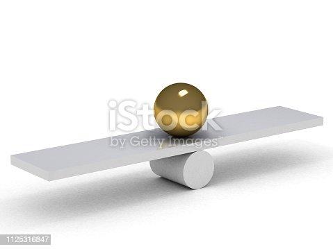 istock Gold balance 1125316847