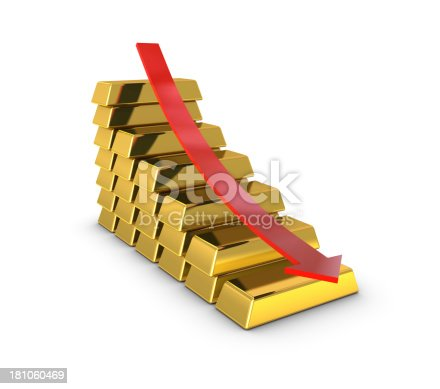 600166766istockphoto Gold Bar Graph 181060469