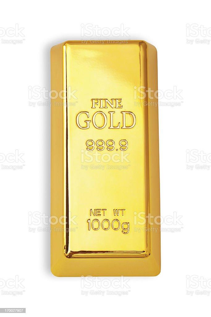 Gold bar - foto de stock