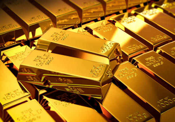 Gold bars Gold, Metal, Ingot, Gold Colored, Investment, computer graphic bringing home the bacon stock pictures, royalty-free photos & images