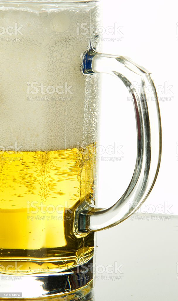gold beer royalty-free stock photo