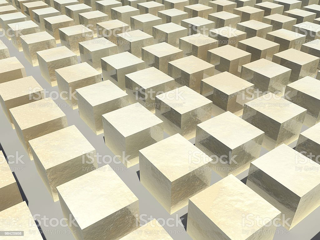 Gold Block Background royalty-free stock photo