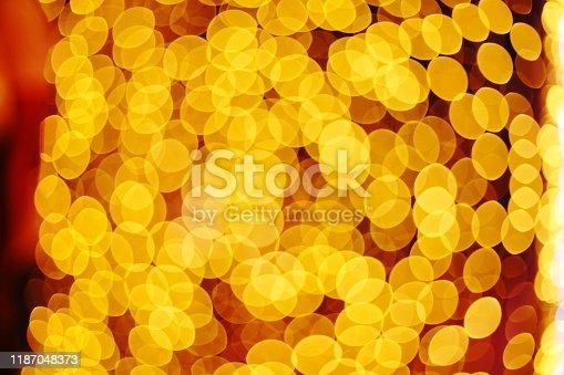 929640504istockphoto Gold Bokeh Background 1187048373