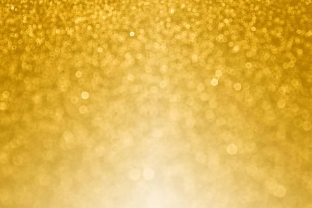 gold bokeh sparkle hintergrund für alles gute zum geburtstag oder hochzeitstag - einladungskarten 50. geburtstag stock-fotos und bilder