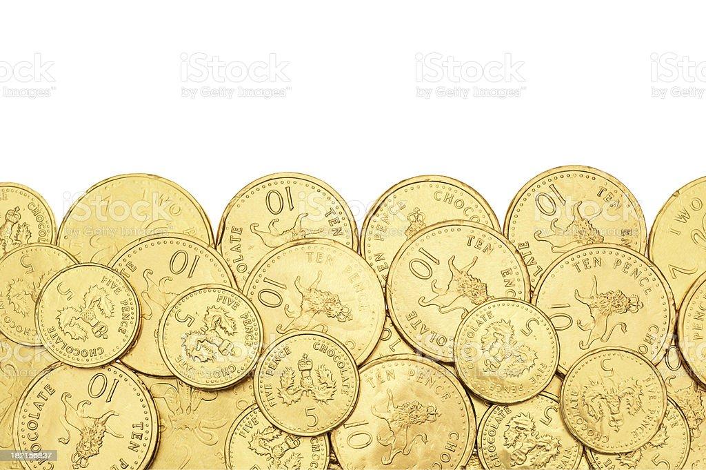 Gold Border royalty-free stock photo