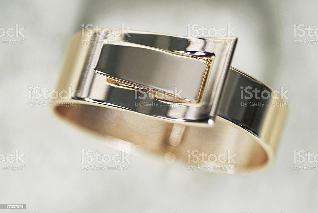Gold Bracelet royalty-free stock photo
