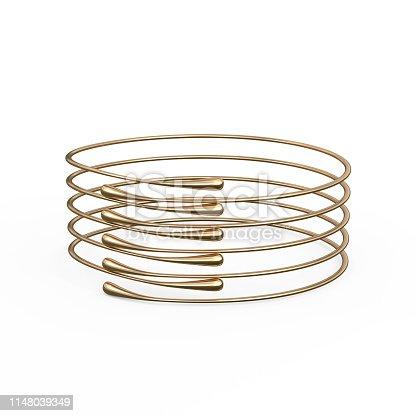 1149145638istockphoto Gold Bracelet Waterdrop design 1148039349