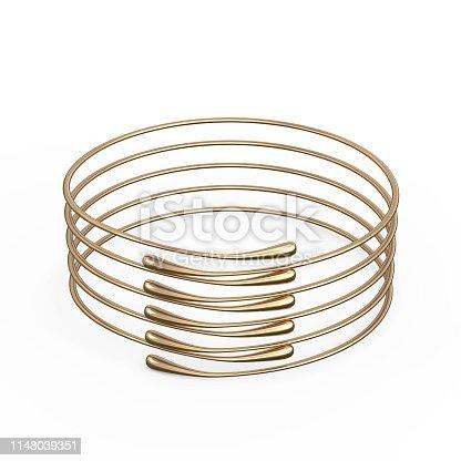 1149145638istockphoto Gold Bracelet Waterdrop design 1148039351