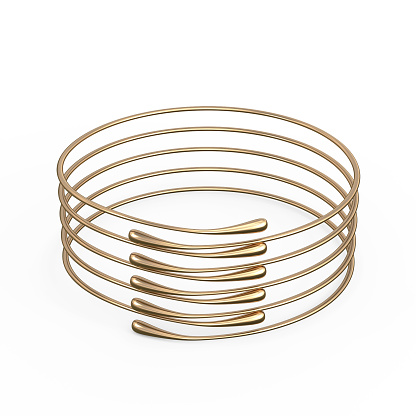 1149145638 istock photo Gold Bracelet Waterdrop design 1148039351