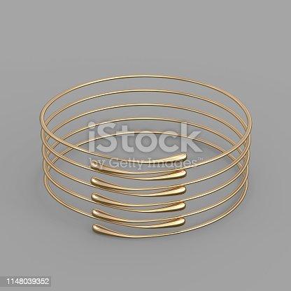 1149145638istockphoto Gold Bracelet Waterdrop design 1148039352