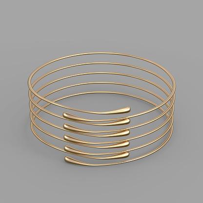 1149145638 istock photo Gold Bracelet Waterdrop design 1148039352
