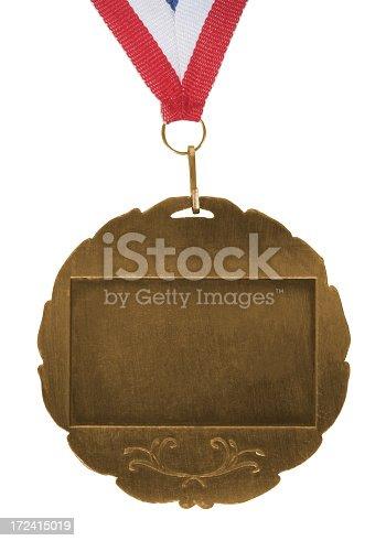 96679072istockphoto Gold brushed medal 172415019
