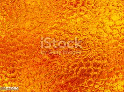 Gold Bubble Bead Foam Background Abstract Reptile Dinosaur Lizard Snake Skin Luxury Texture Ombre Glittering Pattern Party Invitation Backdrop Retro Style Design Template Computer Graphic