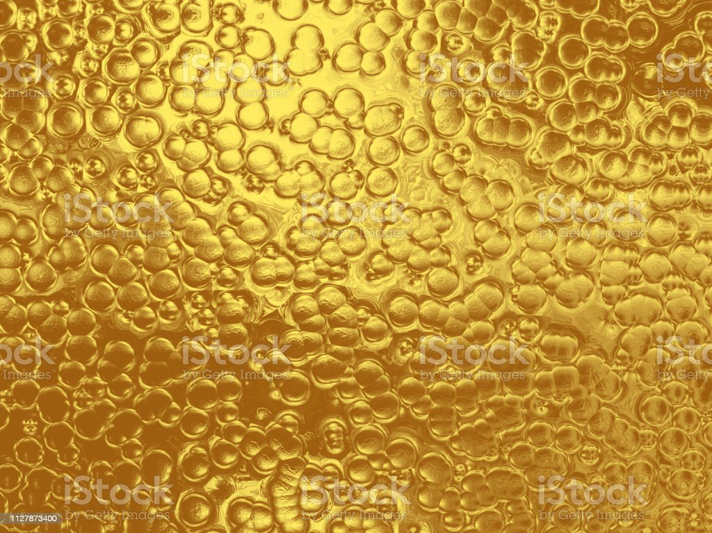 Gold Bubble Background Abstract Luxury Texture Ombre Glittering...