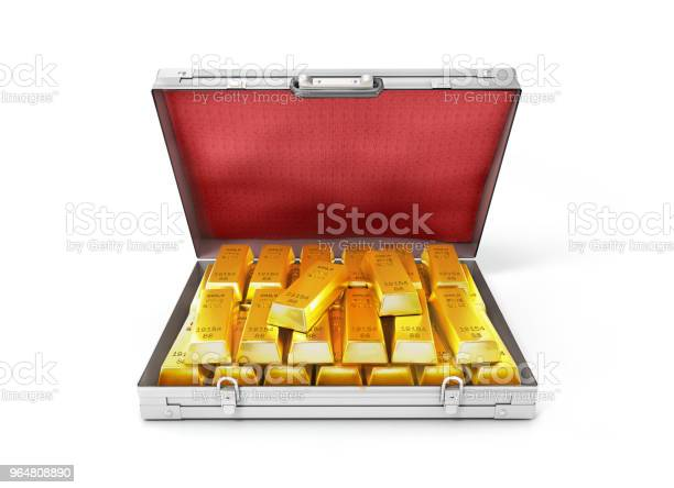 Gold bullion in an open suitcase3d illustration picture id964808890?b=1&k=6&m=964808890&s=612x612&h=svkya7afmrs76p nhpcqbyqwifa5btbou4d zz4qgwg=