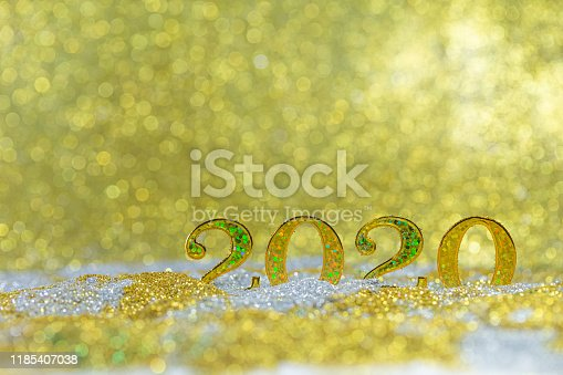 823240022 istock photo Gold celebration background for anniversary, New Year Eve, Christmas, falling coins, wedding or birthday 1185407038
