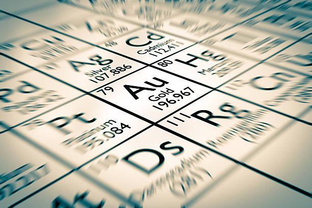 Gold, chemisches Element – Foto
