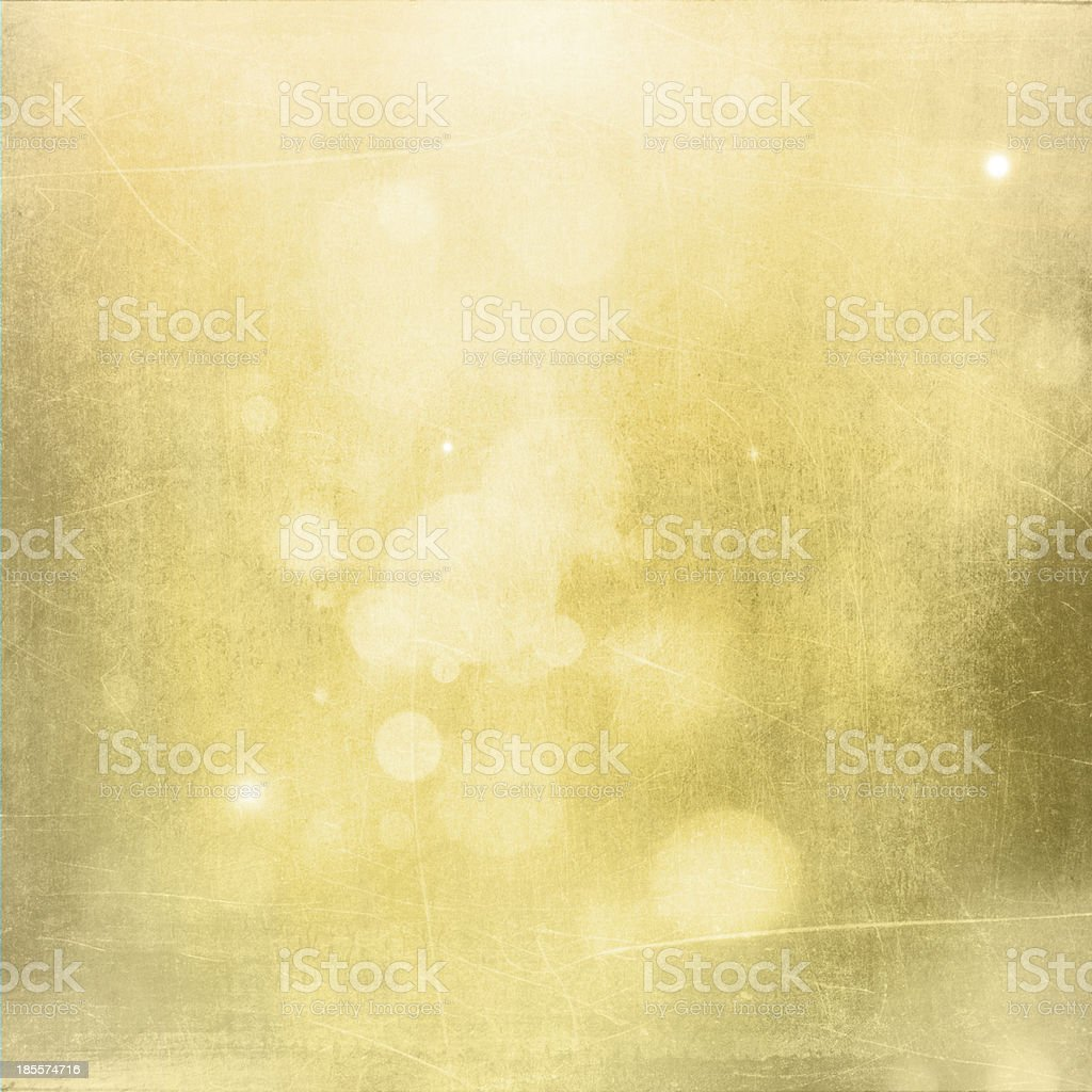 Gold Christmas abstract background stock photo