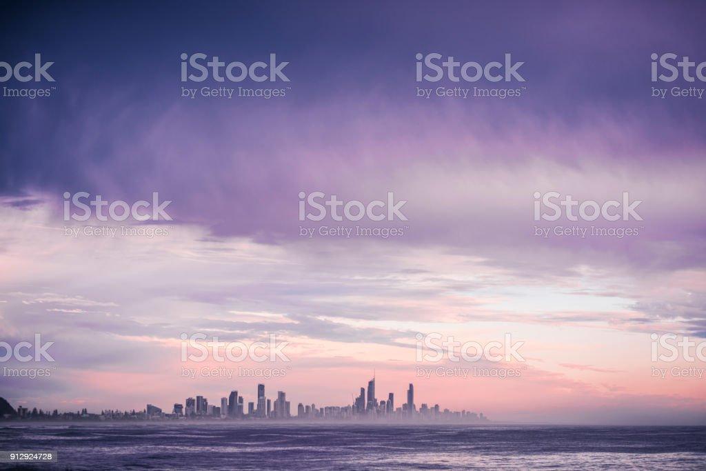 Gold Coast bei Sonnenaufgang – Foto