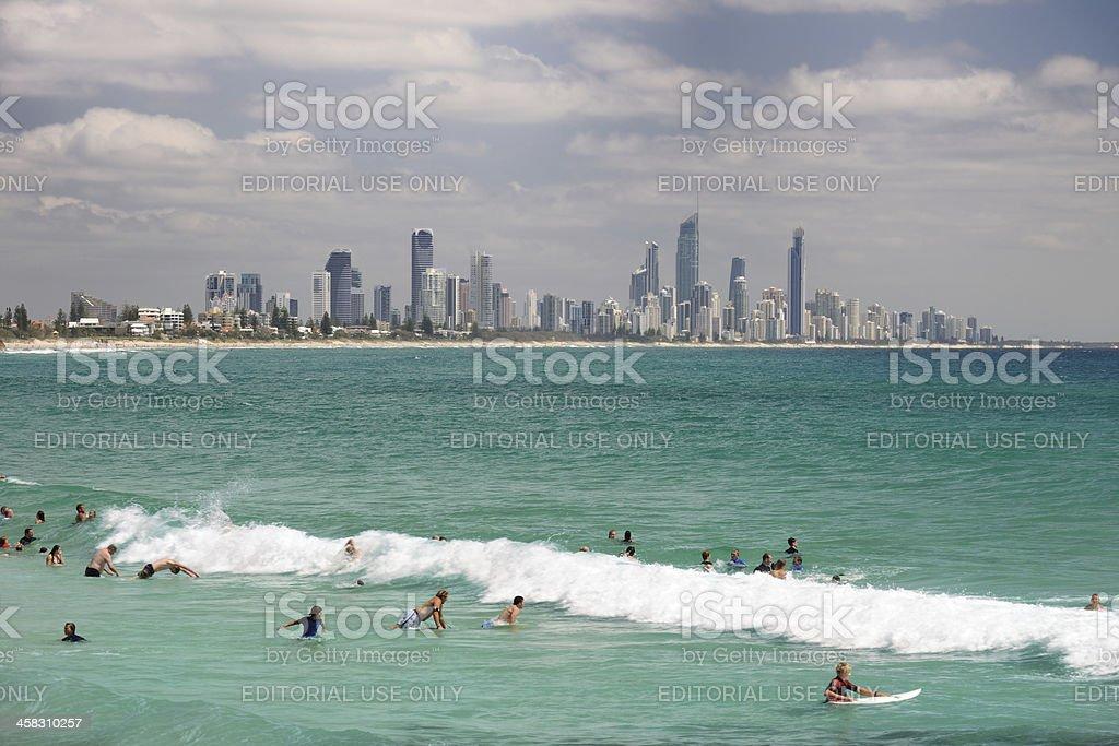 Gold Coast, Australia royalty-free stock photo