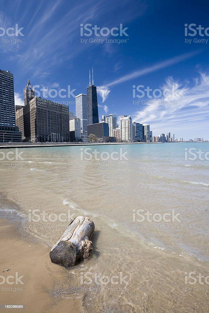 Gold Coast, Chicago royalty-free stock photo