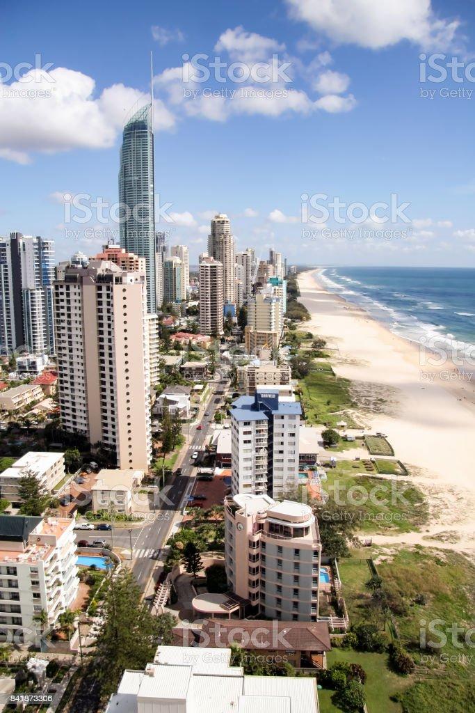 Gold Coast Morning stock photo